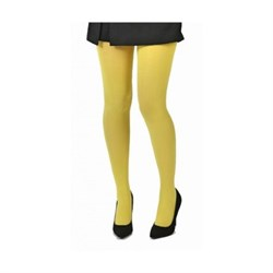 50 DENIER OPAQUE TIGHTS (LEMON)