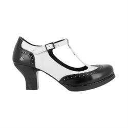 Art Harlem Dame Pumps Black - White