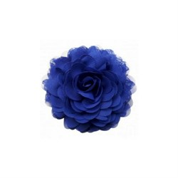 Jet Blue Chiffon Corsage fra Urban Hippies - Accessories