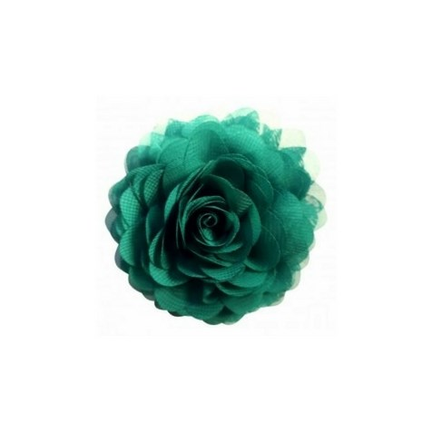 Cadmium Green Chiffon Corsage fra Urban Hippies - Accessories