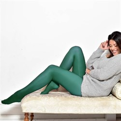 Pamela Mann Strømpebukser 50 Denier Curvy Super Stretch Tights Aqua Green