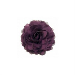 Plum chiffon corsage fra Urban Hippies - Accessories