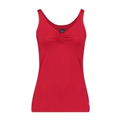 Tante Betsy Camisole TOP viscose solid Red