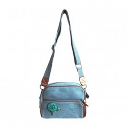 Urban Hippies Teal Dailybag Aqua Rose
